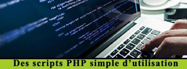 Acheter des scripts PHP