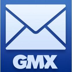Pack 100 comptes Gmx.com