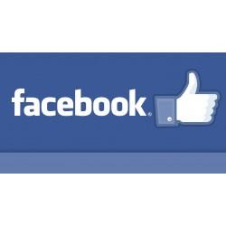 Pack 100 comptes Facebook.com